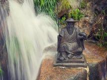 Tio tusen Buddhakloster i Hong Kong Arkivfoton