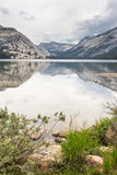 Tioga Lake Yosemite National Park California US Stock Photography