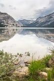 Tioga Lake Yosemite National Park California US stock photography