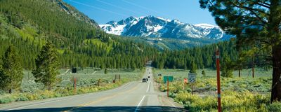 Tioga Pass Stock Images
