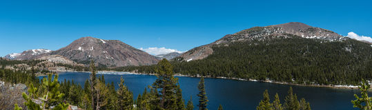 Tioga Pass. View from the road on tioga pass Royalty Free Stock Image