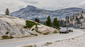 Tioga Pass Yosemite National Park Californa US Royalty Free Stock Photos