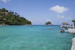 остров Малайзия tioman Стоковые Фотографии RF