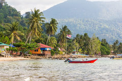 Tioman Insel in Malaysia Stockfotografie