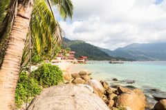 Tioman Insel in Malaysia Lizenzfreies Stockbild