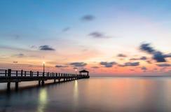 Tioman island jetty Royalty Free Stock Photography