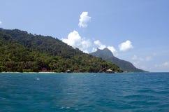 Tioman Island, Malaysia. Tourist destination in South-East Asia Stock Image