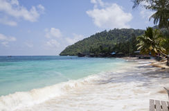 Tioman Island, Malaysia. Salang Village Tioman Island, Malaysia Royalty Free Stock Photos
