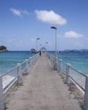 Tioman Island, Malaysia. Salang Village Jetty of Tioman Island, Malaysia Royalty Free Stock Photography