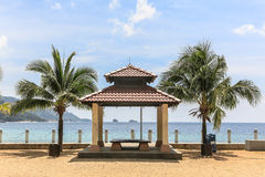 Tioman island promenade Royalty Free Stock Photography