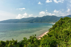 Tioman Island Shore Royalty Free Stock Photography