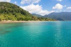 Tioman island. Is a stunning tropical island off the east coast of Malaysian Peninsula Royalty Free Stock Photography