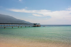 Tioman Jetty Royalty Free Stock Photos
