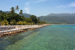 Tioman Waterfront Stock Images