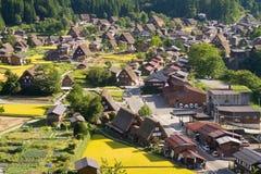 Shirakawago 免版税库存照片