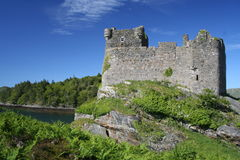 Tioram castle Royalty Free Stock Images