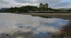Tioram Castle Στοκ εικόνα με δικαίωμα ελεύθερης χρήσης