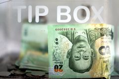 Tip Box Stock Images