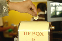 Tip box Stock Photos