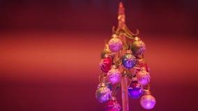 Tip Christmas tree stock video footage