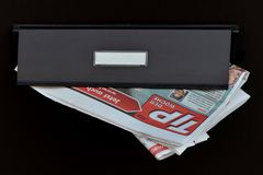 """TIP der Woche"" in letterbox. Stock Photo"