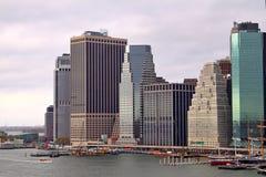 Tip of Manhattan royalty free stock image