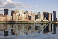 Tip of Manhattan Stock Images