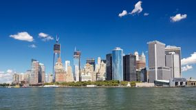 The Tip of Manhattan Royalty Free Stock Images