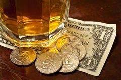 Tip Money Stock Photography