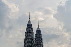 Tip of Petronas Towers Stock Image