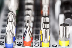 Tip screwdriver Royalty Free Stock Images
