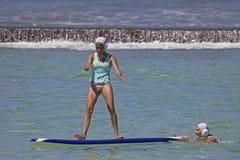 Tip Top Shape. Event:  2013 Duke Kahanamoku OceanFest Surfboard Water Polo 25.VIII.13 Royalty Free Stock Photos