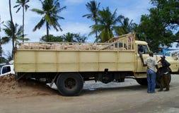 Tip truck. Kenya. Royalty Free Stock Image