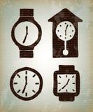 Tipes di Watchs Immagini Stock