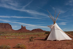 Tipi Photographie stock