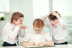 Tipi dello scolaro Immagine Stock Libera da Diritti