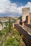 Tipi di Alhambra Fotografie Stock