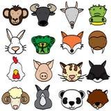 Tipi di animali Fotografie Stock