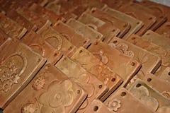 Tipi di argille 1 Immagine Stock