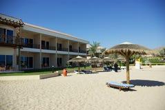 Tipi di località di soggiorno della Fujairah Fotografie Stock