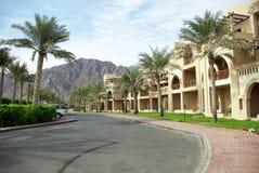 Tipi di località di soggiorno della Fujairah Immagine Stock