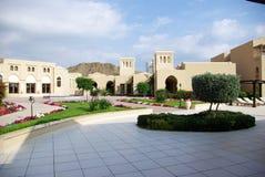 Tipi di località di soggiorno della Fujairah Immagine Stock Libera da Diritti
