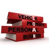 Tipi di prestiti Fotografia Stock Libera da Diritti
