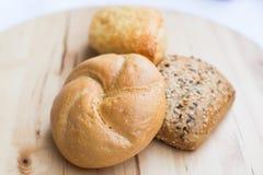 Tipi differenti del pane Immagine Stock Libera da Diritti