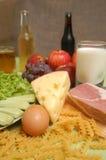 Tipi differenti di calorie Fotografia Stock Libera da Diritti