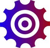 Tipi differenti di logo di affari immagini stock