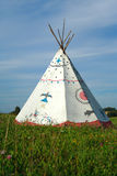 Tipi in europe royalty free stock image
