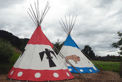 Tipi for Indian Royalty Free Stock Photography