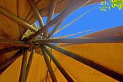Tipi-Oberseite Stockfotografie
