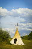 Tipi tent Indians Royalty Free Stock Image